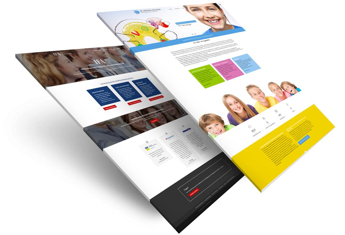 Webdesign Arbeiten für Düsseldorf